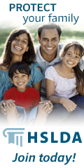 HSLDA... Protect your family--Join today!